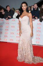 MAYA JAMA at National Television Awards in London 01/23/2018