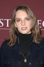 MAYA THURMAN-HAWKE at Little Women Show Panel at TCA Winter Press Tour in Los Angeles 01/16/2018
