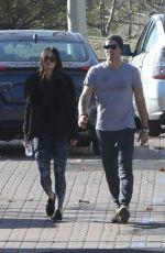 MEGAN FOX and Brian Austin Green Arrives at Malibu Country Mart 01/25/2018