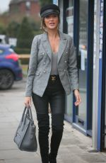 MEGAN MCKENNA Arrives at MGK Grill in Woodford 01/27/2018