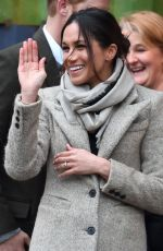 MEGHAN MARKLE at 107.3 FM in Brixton 01/09/2018