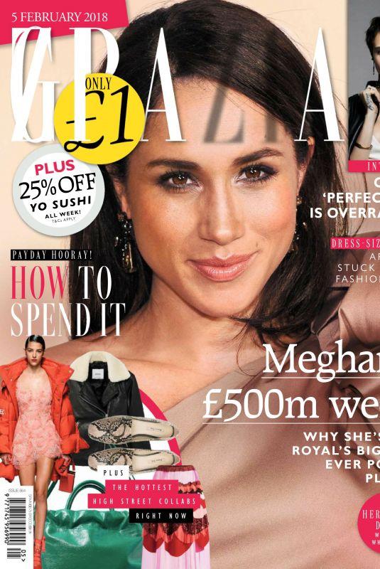 MEGHAN MARKLE in Grazia Magazine, UK February 2018 Issue