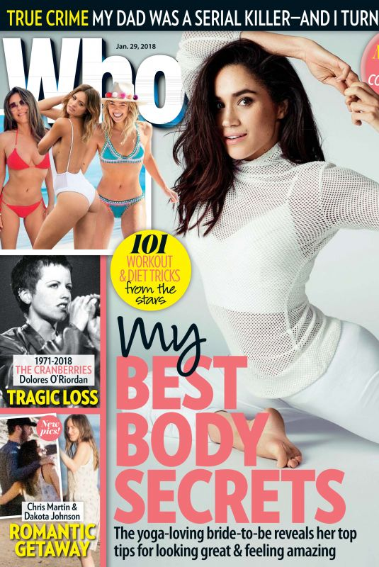 MEGHAN MARKLE in Who Magazine,January 2018 Issue