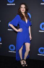 MEGHANN FAHY at 2018 Freeform Summit in Hollywood 01/18/2018