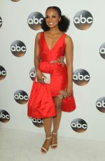 MEKIA COX at ABC All-star Party at TCA Winter Press Tour in Los Angeles 01/08/2018