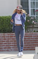 MELANIE BROWN Out and About in Beverly HIlls 01/17/2018