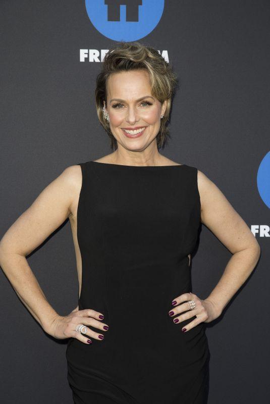 MELORA HARDIIN at 2018 Freeform Summit in Hollywood 01/18/2018
