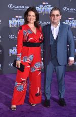 MEREDITH SALENGER at Black Panther Premiere in Hollywood 01/29/2018
