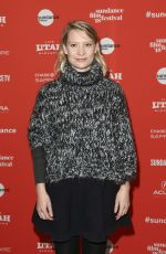 MIA WASIKOWSKA at Damsel Premiere at Sundance Film Festival 01/23/2018