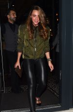 MICHELLE HEATON Night Out in London 01/05/2018