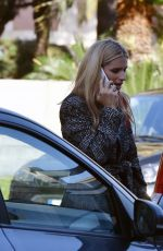 MICHELLE HUNZIKER Arrives for Rehearsals at Ariston Theater in Sanremo 01/27/2018