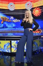 MICHELLE HUNZIKER at Striscia La Notizia Show Photocall in Milan 01/08/2018