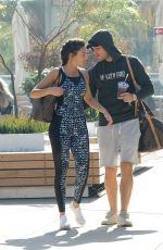MICHELLE KEEGAN Heading to a Gym in Los Angeles 01/01/2018