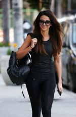 MICHELLE KEEGAN Heading to a Gym in Los Angeles 01/24/2018