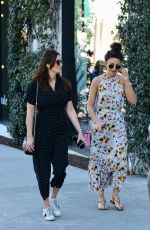 MICHELLE KEEGAN Out in West Hollywood 01/23/2018