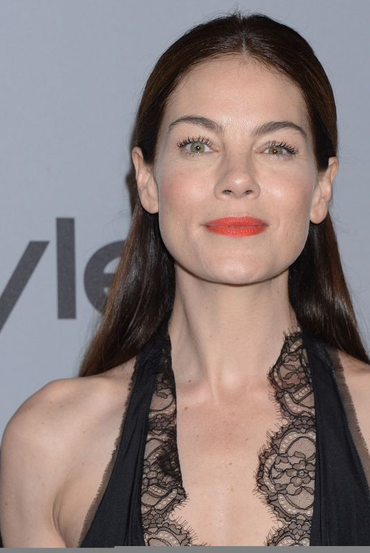 MICHELLE MONAGHAN at Instyle and Warner Bros Golden Globes After-party in Los Angeles 01/07/2018