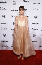 MICHELLE MONAGHAN at Marie Claire Image Makers Awards in Los Angeles 01/11/2018