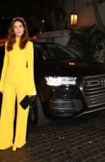MICHELLE MONAGHAN at W Magazine Celebrates Its Best Performances Portfolio and Golden Globes in Los Angeles 01/04/2018