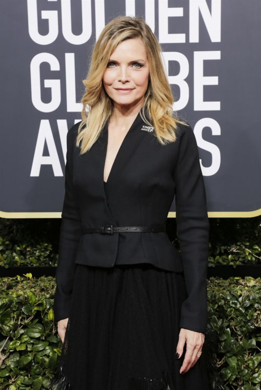 MICHELLE PFEIFFER at 75th Annual Golden Globe Awards in Beverly Hills 01/07/2018