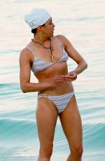 MICHELLE RODRIGUEZ in Bikini at a Beach in Tulum 03/01/2018