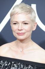MICHELLE WILLIAMS at 75th Annual Golden Globe Awards in Beverly Hills 01/07/2018