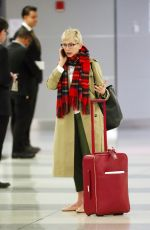 MICHELLE WILLIAMS at JFK Airport in New York 01/29/2018