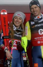 MIKAELA SHIFFRIN Alppine Skiing Fis World Cup in Oslo 01/01/2018