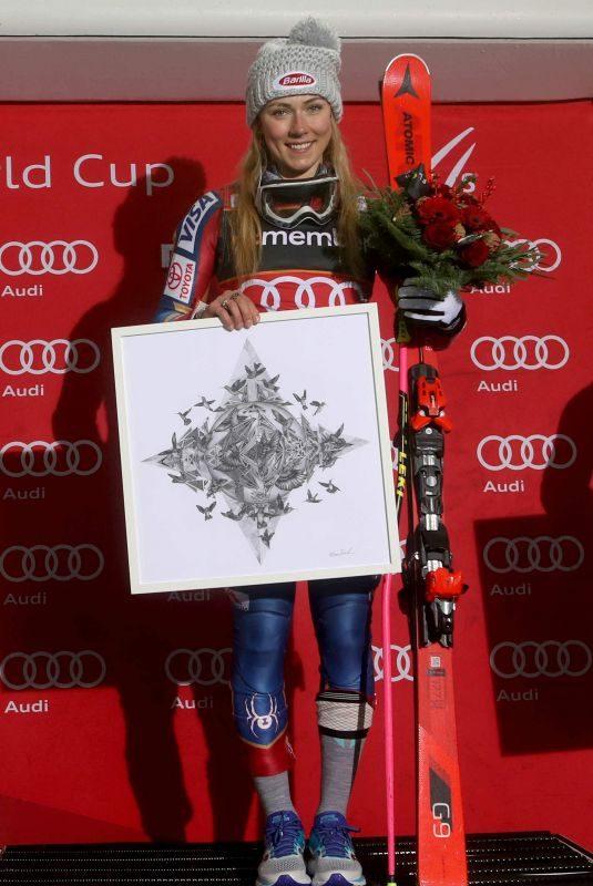 MIKAELA SHIFFRIN Alppine Skiing Fis World Cup in Oslo 01/01/2018