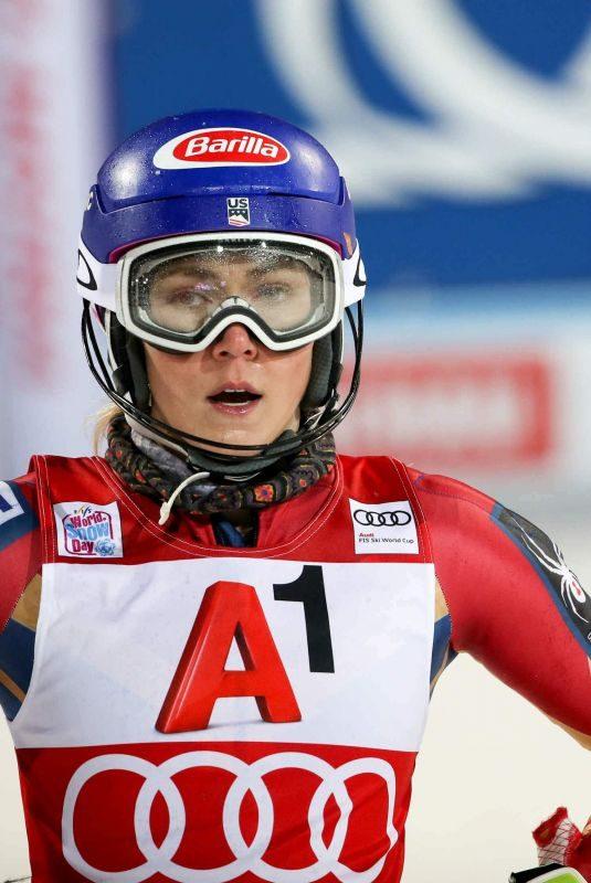 MIKAELA SHIFFRIN at Alpine Skiing FIS World Cup in Flachau 01/09/2018