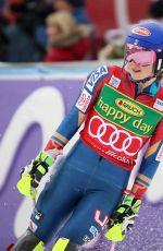 MIKAELA SHIFFRIN at Alpine Skiing FIS World Cup Slalom at Kranjska Gora in Slovenia 01/07/2018