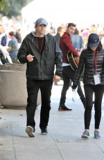 MILA KUNIS and Ashton Kutcher at 2018 Women's March in Los Angeles 01/20/2018