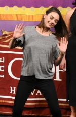 MILA KUNIS at Hasty Pudding Theatricals Honors Mila Kunis as 2018 Woman of the Year in Cambridge 01/25/2018