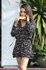 MILA KUNIS Out and About in Bel Air 01/30/2018