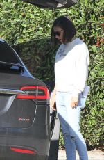 MILA KUNIS Out and About in Los Angeles 01/15/2018