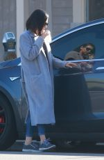 MILA KUNIS Out and About in Sherman Oaks 01/11/2018