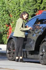 MILA KUNIS Out in Los Angeles 01/23/2018