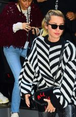 MILEY CYRUS Heading to Radio City Music Hall in New York 01/26/2018