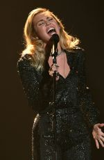 MILEY CYRUS Performs at 2018 Musicares Person of the Year Gala in New York 01/26/2018