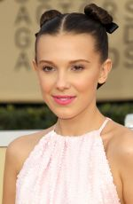 MILLIE BOBBY BROWN at Screen Actors Guild Awards 2018 in Los Angeles 01/21/2018
