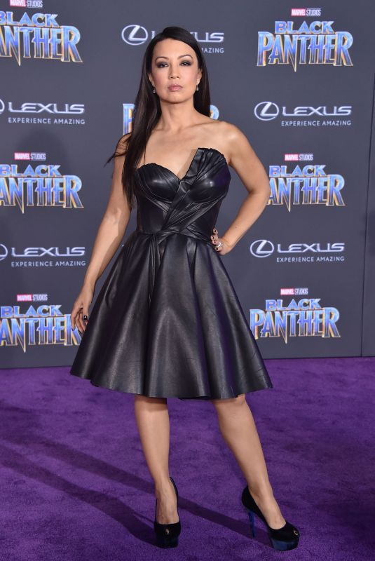 MING-NA WEN at Black Panther Premiere in Hollywood 01/29/2018