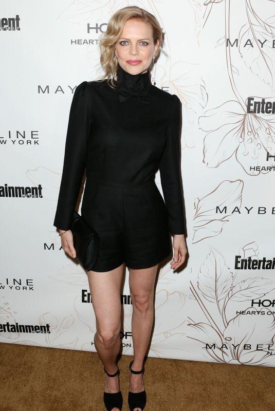 MIRCEA MONROE at Entertainment Weekly Pre-SAG Party in Los Angeles 01/20/2018
