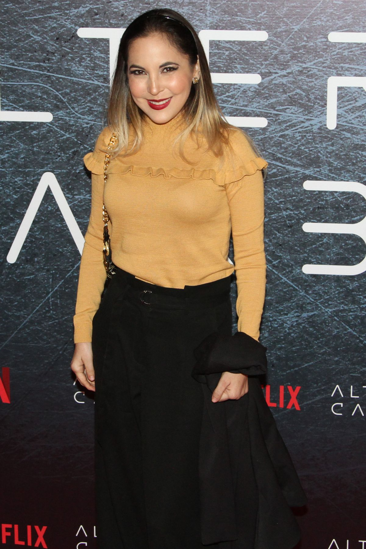 MIRIAM HIGAREDA at Altered Carbon TV Show Photocall in
