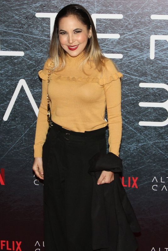 MIRIAM HIGAREDA at Altered Carbon TV Show Photocall in Mexico City 01/25/2018