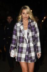 MOLLIE KING Arrives at Hello Love Robinsons Event in London 01/30/2018
