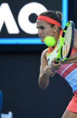 MONICA PUIG at Australian Open Tennis Tournament in Melbourne 01/17/2018
