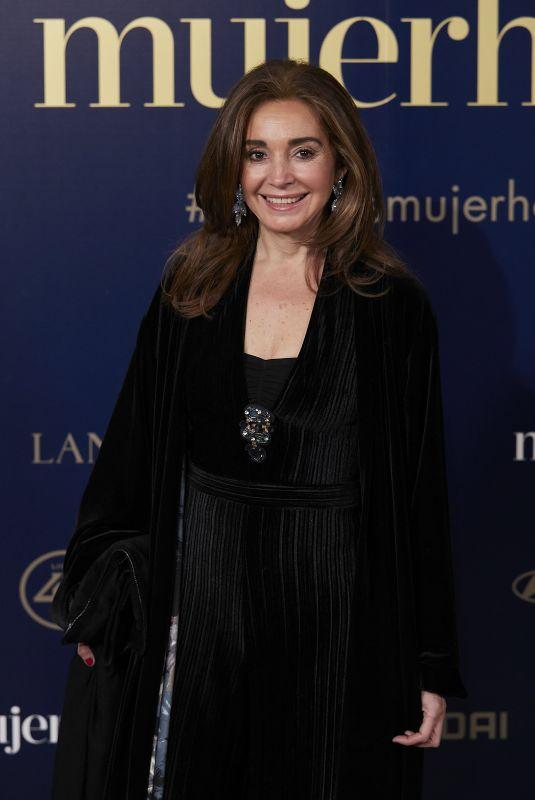 MONICA VALDERRAMA at 9th Annual Mujer Hoy Awards in Madrid 01/30/2018
