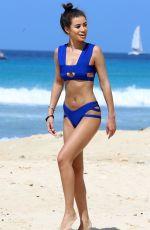 MONTANA BROWN in Bikini on the Beach in Barbados 01/10/2018