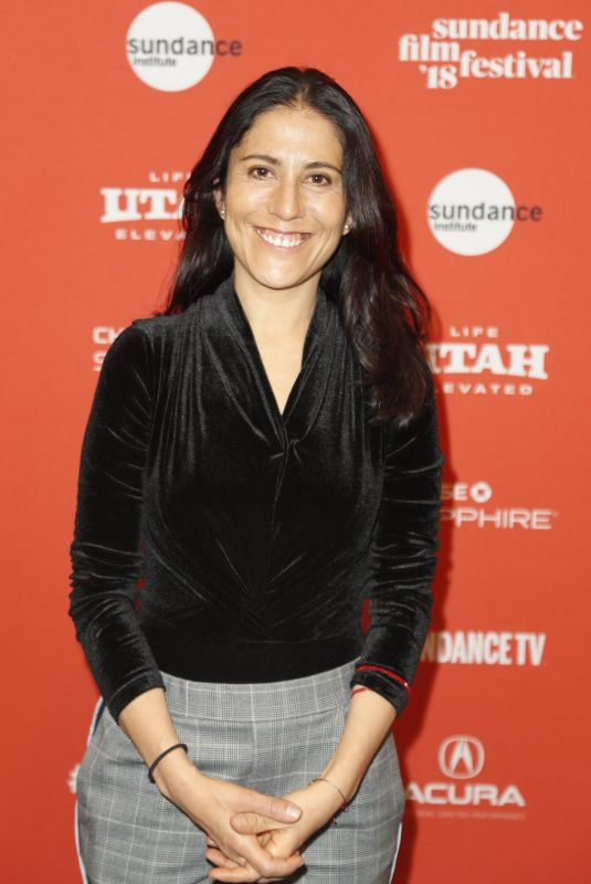 MONTSERRAT MARANON at Time Share Premiere at 2018 Sundance Film Festival in Park City 01/20/2018