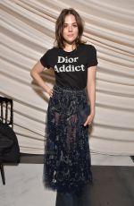 MORGANE POLANSKI at Cristian Dior Show at Spring/Summer 2018 Haute Couture Fashion Week in Paris 01/23/2018