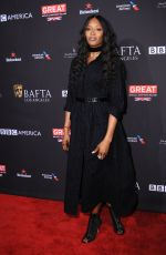 NAOMI CAMPBELL at Bafta Los Angeles Tea Party in Los Angeles 01/06/2018